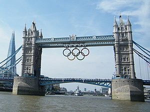 Tower Bridge Olympics Summer 2012 - panoramio
