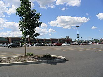 Fayetteville, New York - The Fayetteville Towne Center Shopping Mall includes Target, Kohl's, Bonefish Grill, Carrabbas, Panera Bread, and many other stores and restaurants.