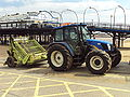 Tractor, Cleethorpes seafront - DSC07346.JPG