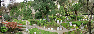 Trafalgar Cemetery - Panoramic view of the Trafalgar Cemetery