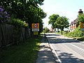 Traffic calming measures, entering Sharpthorne. - geograph.org.uk - 182691.jpg