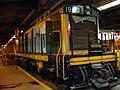 Train on display at Winnipeg Railway Museum.JPG