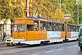 Tram in Sofia near Macedonia place 2012 PD 091.jpg
