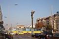 Tram in Sofia near Sofia statue 2012 PD 006.jpg