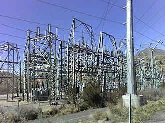 Delhi Transco Limited - A transmission substation increase the voltage of electricity coming in to allow it for long distance transmission.
