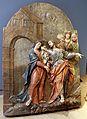 Tre rilievi dal calvario di banskà Stiavnica (slovacchia), 1744-51 (slovenske banske muzeum), 02 commiato da maria.jpg