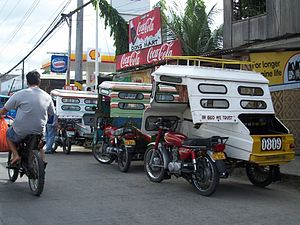 Tricycle in Tagbilaran City