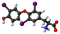 Triiodothyronine zwitterion 3D ball.png