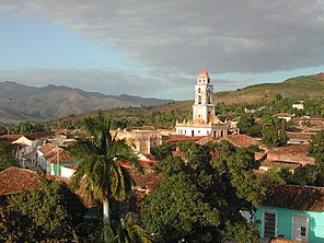 The Iglesia y Convento de San Francisco in Trinidad