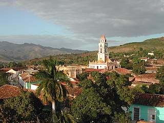 Une vue de Trinidad à Cuba