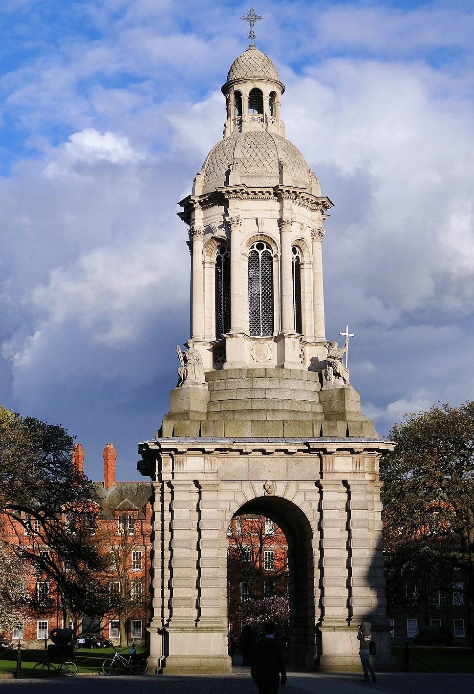 Trinity-College-Campanile-Front