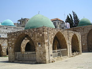 Mansouri Great Mosque - Ablution fountain in the mosque's courtyard