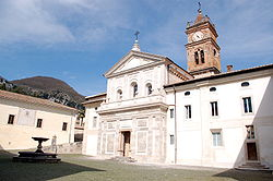 Church of San Bartolomeo in the Certosa di Trisulti