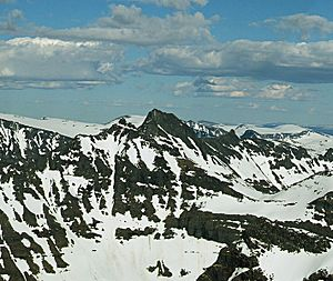 Trolla (mountain) - Image: Trolla From Dronningkrona