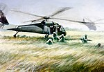 Troops disembark from helicopter painting.jpg
