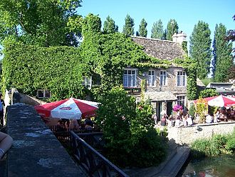 Godstow - The Trout public house from Godstow bridge