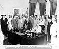 Truman signing National Security Act Amendment of 1949.2.jpg