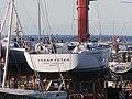 Tsaar Peter Road Harbour SPBYC Sign Kalev Yacht Club Tallinn 5 November 2015.JPG