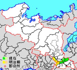 Tsuzuki District, Kyoto - Location of Tsuzuki in Kyoto district