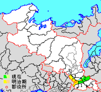 Tsuzuki District, Kyoto - Location of Tsuzuki in Kyoto district