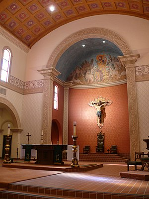 Cathedral of Saint Augustine (Tucson, Arizona) - Image: Tucson Cathédrale Saint Augustin 22