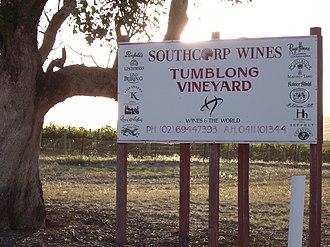 Tumblong, New South Wales - Tumblong Vineyard