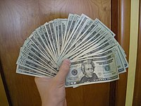 Twenty dollar bills.JPG