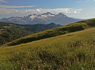 Mount Baker-Snoqualmie National Forest - Twin Sisters Mountain in the Mount Baker Wilderness