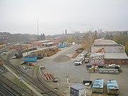 U-Bahn Berlin Teil Werksgelände Grunewald