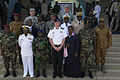 U.S. Army Gen. David Rodriguez, front row, center, the commander of U.S. Africa Command, poses for a photo with military leaders participating in exercise Western Accord 2013 in Accra, Ghana, June 26, 2013 130626-Z-ZZ999-006.jpg