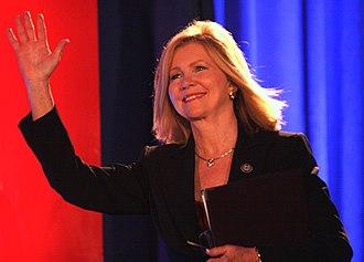 Marsha Blackburn - Rep. Marsha Blackburn speaking at the 2011 Republican Leadership Conference in New Orleans, Louisiana