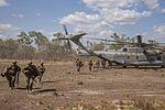 U.S. Marines make sure movement is smooth in the Australian skies 150522-M-HL954-693.jpg