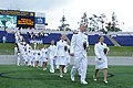 U.S. Naval Academy graduates enter Navy-Marine Corps Memorial Stadium in Annapolis, Md., for the class of 2013 graduation and commissioning ceremony May 24, 2013 130524-N-AC575-008.jpg