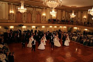 Debutante - Traditional Ukrainian American debutante ball at Chicago's Palmer House Hotel.