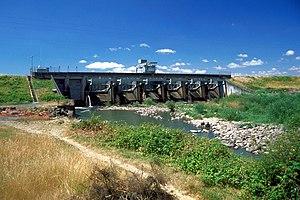 Long Tom River - Image: USACE Fern Ridge Dam Oregon
