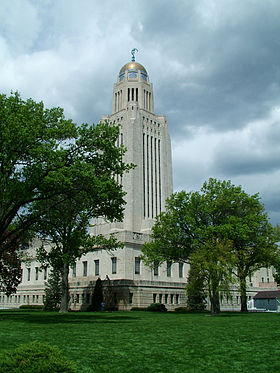Image illustrative de l'article Capitole de l'État du Nebraska