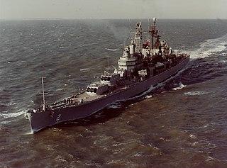 USS <i>Canberra</i> (CA-70) American guided missile cruiser