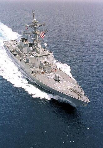 USS Curtis Wilbur - Image: USS Curtis Wilbur DDG 54 1999