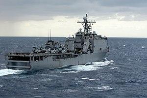Dock landing ship - Image: USS Harpers Ferry (LSD 49)