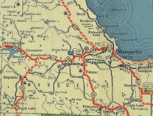 US Route In Michigan Wikipedia - Us 41 map