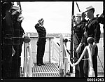 US Naval officers and sailors on board USS ASTORIA (8556757102).jpg