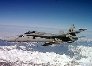 VFA-125 - A VFA-125 F/A-18C in 2003.