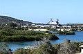 US Navy 050209-N-1644C-001 The amphibious assault ship USS Saipan (LHA 2) sits pier side on board Naval Base Guantanamo Bay, Cuba.jpg