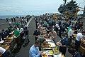 US Navy 050805-N-8492C-001 Sailors relax and enjoy a steel beach picnic.jpg