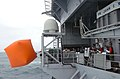 US Navy 060620-N-5024R-005 Weapons Department personnel release an inflatable balloon known as a killer tomato off the fantail aboard the Nimitz-class aircraft carrier USS John C. Stennis (CVN 74).jpg