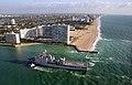 US Navy 090427-N-8670L-006 The amphibious dock landing ship USS Ashland (LSD 48) enters port on opening day of the annual Fleet Week Port Everglades celebration.jpg