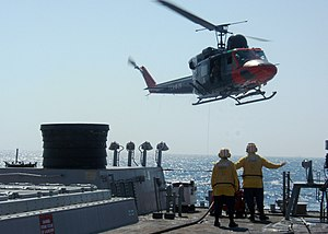 Turkish Naval Forces - An Agusta-Bell AB-212 ASW of the Turkish Naval Forces.