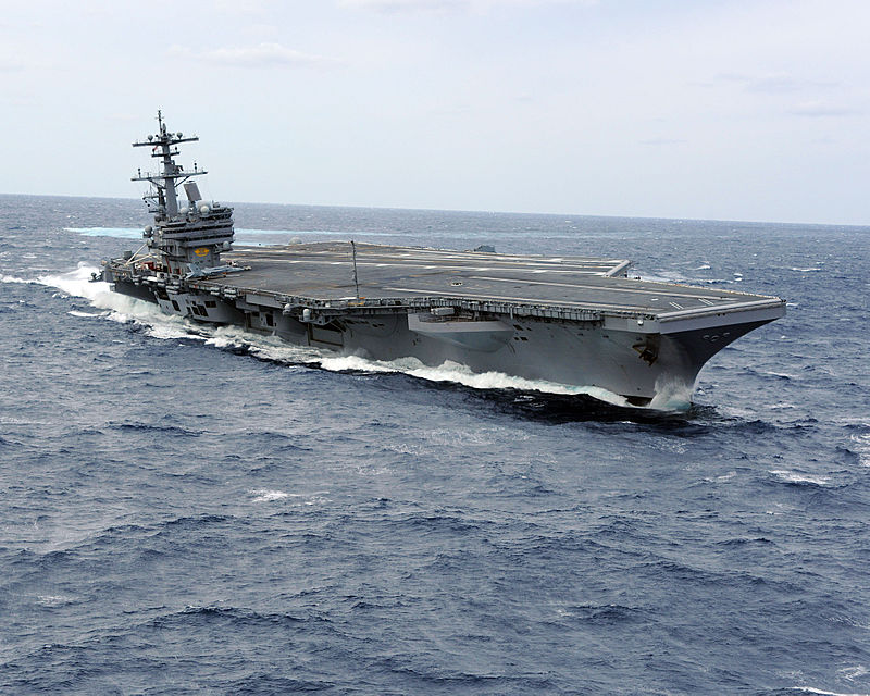https://upload.wikimedia.org/wikipedia/commons/thumb/5/55/US_Navy_100227-N-1854W-716_USS_George_H.W._Bush_%28CVN_77%29_heels_hard_to_starboard_during_high-speed_drills.jpg/800px-US_Navy_100227-N-1854W-716_USS_George_H.W._Bush_%28CVN_77%29_heels_hard_to_starboard_during_high-speed_drills.jpg