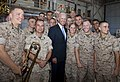 US Vice President Joe Biden speaks to Marines, sailors and their families at Marine Corps Base Hawaii 110825-M-TN436-332.jpg