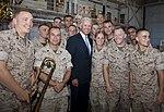 US Vice President Joe Biden speaks to Marines, sailors and their families at Marine Corps Base Hawaii 110825-M-TN436-332.jpg